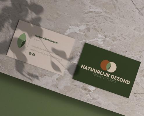 Visitekaartjes ontwerp - NGNL
